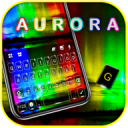 Aurora Nothern Lights Keyboard Theme 1.0
