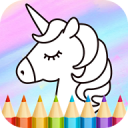 Unicorn Coloring Book 1.15