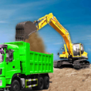 Sand Excavator Truck Driving Rescue Simulator game 5.1