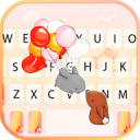 Cartoon Love Keyboard Theme 1.0