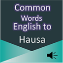 Common Words English to Hausa 2.2