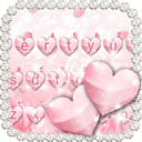 Pink Heart Love Keyboard Theme 1.0