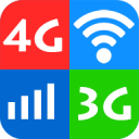 Wifi, 5G, 4G, 3G speed test 3.4
