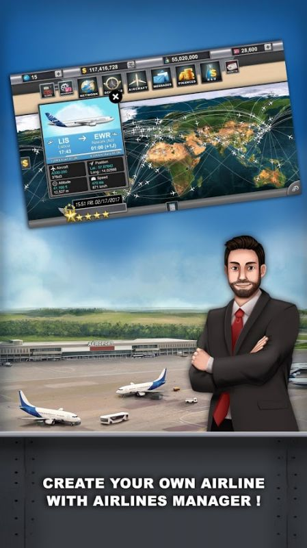 Airlines Manager - Tycoon 2018 3 00 5102 apk 免費版 下載 - ApkHere com
