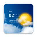 Transparent weather clock 3.10.06