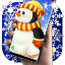 Penguin Live Wallpaper  Winter Snow Wallpapers 6.7.0