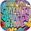 How To Draw Graffiti Character Name - Step by Step 1.0