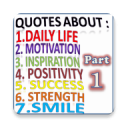 Daily Inspirational Quotes. ( Part1 ) FREE 2020 1.8