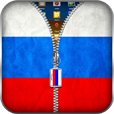 Russian Flag Zipper Lock Screen 36.1