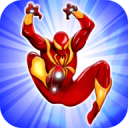 Flying Iron Spider Hero Adventure New 1.7