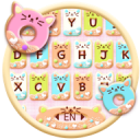 Colorful Donuts Button Keyboard Theme 1.0