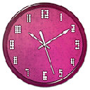 Pink Clock Live Wallpaper 1.0.0
