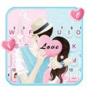 Romantic Couple Love Keyboard Theme 1.0
