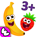 Funny Food 3! Math kids Number games for toddlers 1.2.4.27