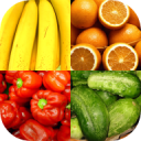 Fruit and Vegetables, Nuts & Berries: Picture-Quiz 1.2