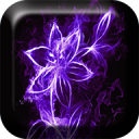Neon Flowers Live Wallpaper 1.8