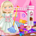 Princess Doll House Cleaning & Decoration Games 7.0