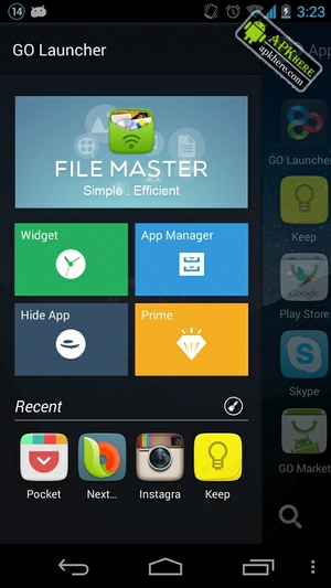 go launcher prime apk ultima version