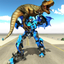 Transforming Dragon Robot VS Jurassic Dino World 1.1