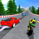 Car vs Bike Racing 2.4