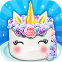 Unicorn Food - Sweet Rainbow Cake Desserts Bakery 2.0