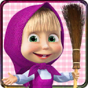 Masha and the Bear: House Cleaning Games for Girls 1.9.11
