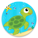 Learn Sea World Animal Game-Name Puzzle Colouring 1.6