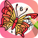 Fun Color Color By Number Pages Paint Happy 3.0.4