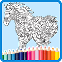Coloring Book: Animal Mandala 4.1.6