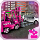 Pink Lady Car Parking fork Lifter 1.1