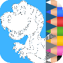 Dinosaurs Coloring Pages 1.2.4