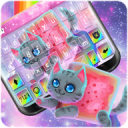 Rainbow Cat Keyboard Theme 1.0