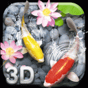 Lively Koi Fish 3D Theme 2.0.18