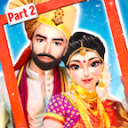 Indian Wedding Makeover,Makeup And Dressup: Part 2 11.0
