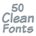 Fonts for FlipFont 50 Clean 3.23.0