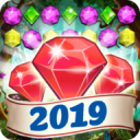 Jewels Deluxe 2018 - New Mystery Jewels Game 2.5.5