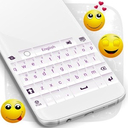 White and Purple Keyboard 1.279.13.92