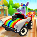 Pony Craft Unicorn Car Racing - Pony Care Girls 1.1.9